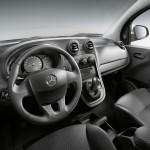 Der Innenraum des Mercedes-Benz Citan