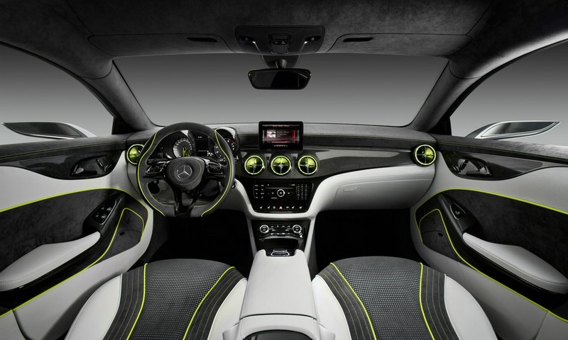 Armaturenbrett mercedes  Galerie: Mercedes-Benz Concept Style Coupe Armaturenbrett | Bilder ...