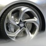 Die 21 Zoll Felgen des Mercedes-Benz Concept Style Coupe