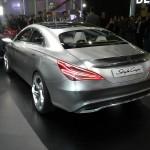 Heckansicht des Mercedes-Benz Concept Style Coupe