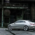 Mercedes-Benz Concept Style Coupe in der Heckansicht