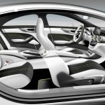 Der Innenraum des Mercedes-Benz Concept Style Coupe