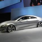 Mercedes-Benz Concept Style Coupe in der Seitenansicht auf der Auto China 2012