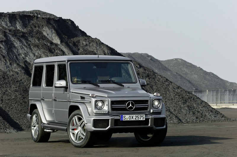 Mercedes-Benz G 63 AMG in Silber