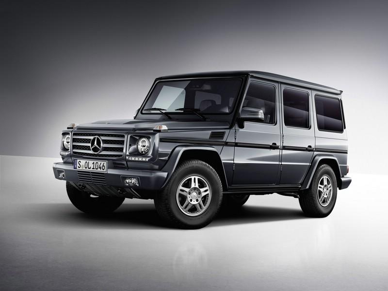 Die neue Mercedes-Benz G-Klasse Modell 2012