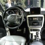 Mercedes-Benz G-Klasse Cockpit - Auto China in Peking