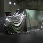 Die neue Mercedes-Benz G-Klasse vor der Enthüllung auf der Auto China 2012