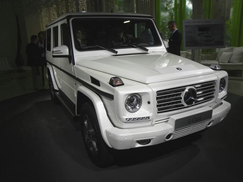 Mercedes-Benz G-Klasse auf der Auto China 2012