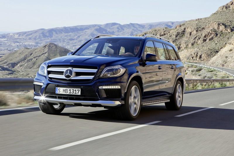 Mercedes-Benz GL-Klasse 2012 in der Frontansicht