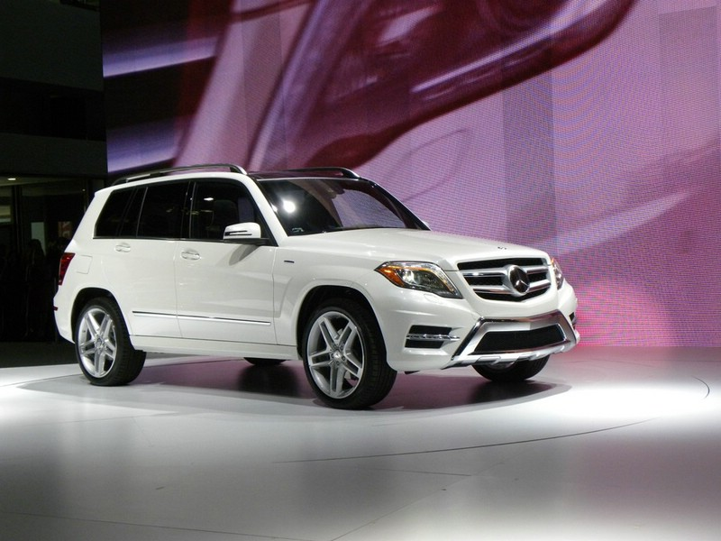 Mercedes-Benz GLK auf der Messe in New York (USA)