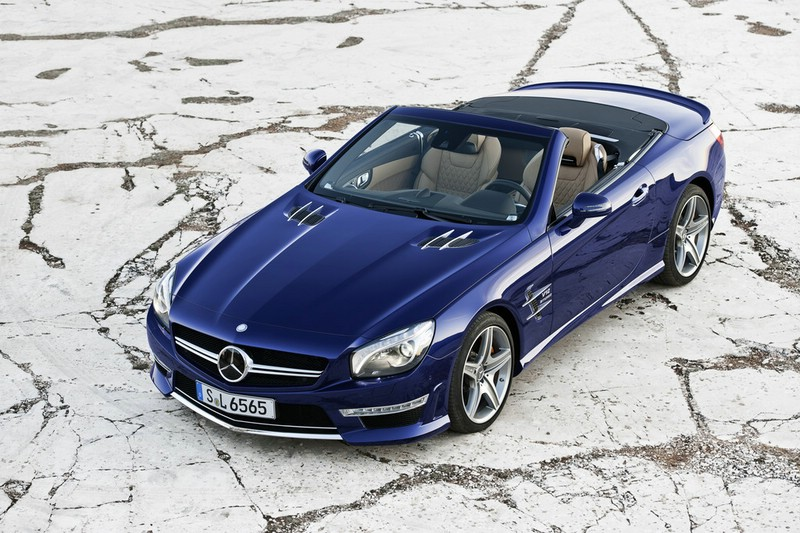 2012-er Mercedes-Benz SL 65 AMG