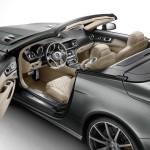 Der Innenraum des Mercedes-Benz SL 65 AMG 45th Anniversary