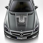 Der 630 PS starke Motor des Mercedes-Benz SL 65 AMG 45th Anniversary