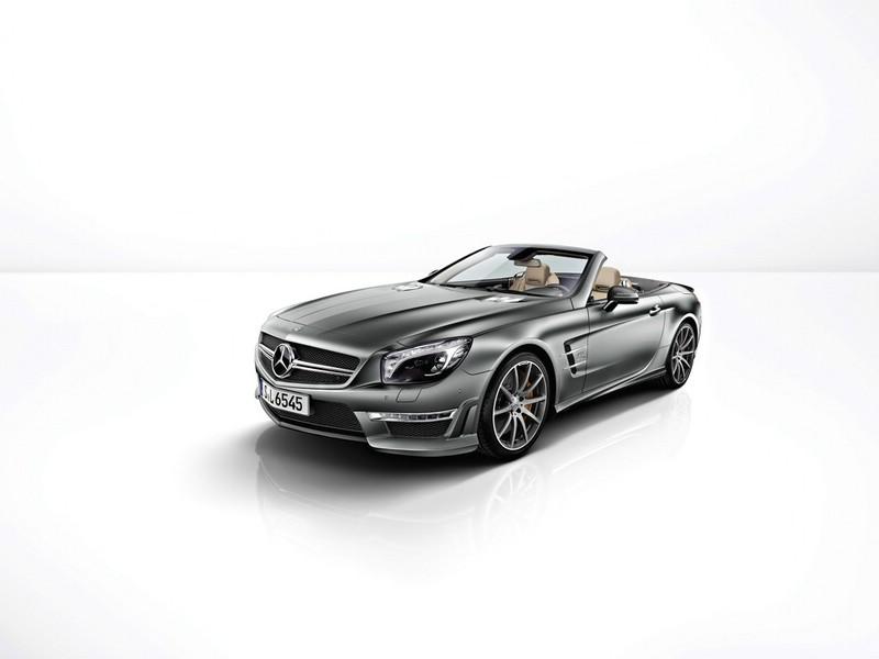 Mercedes-Benz SL 65 AMG 45th Anniversary wird auf 45 Stück limitiert