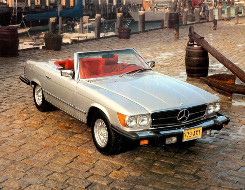 Mercedes-Benz Typ 450 SL Baujahr 1979