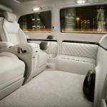 Der Innenraum des Mercedes-Benz Viano Vision Diamond