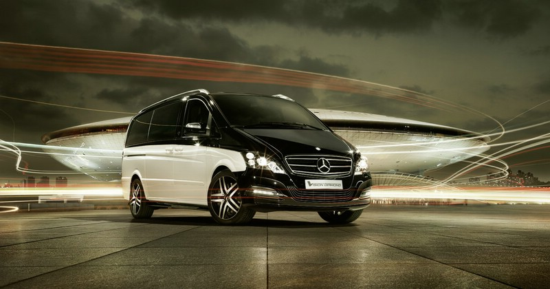 Der Mercedes-Benz Viano Vision Diamond als Showcar auf der Auto China 2012