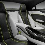 Die Fondsitze des Mercedes-Benz Concept Style Coupe