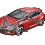 Der neue Opel Astra OPC mit ist mit einem Hochleistungsfahrwerk ausgestattet
