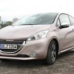 Der neue Peugeot 208 in der Frontansicht