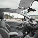 Der Innenraum des neuen Peugeot 208