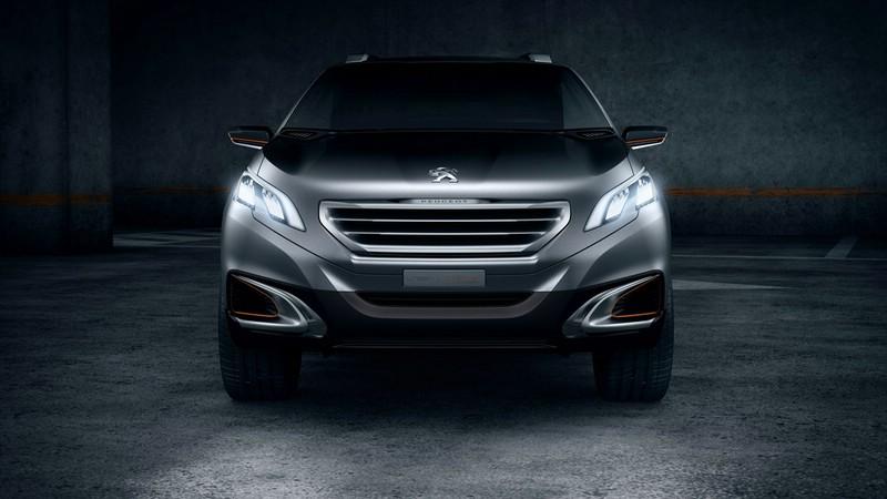 Front des Peugeot Urban Crossover