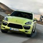 Die Frontpartie des Sportlers Porsche Cayenne GTS