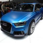Der Audi RS Q3 als Studie auf der Peking-Messe