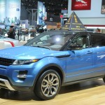 Range Rover Evoque auf der Autoshow in New York 2012
