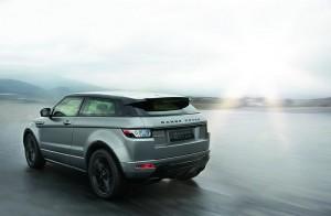 Heckansicht des Range Rover Evoque Special Edition