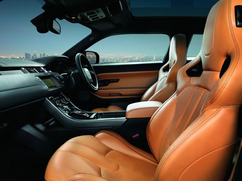 Der Innenraum des Range Rover Evoque Special Edition