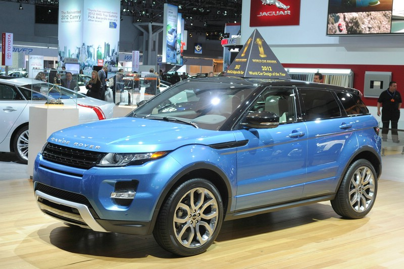Range Rover Evoque auf der Autoshow in New York 2012