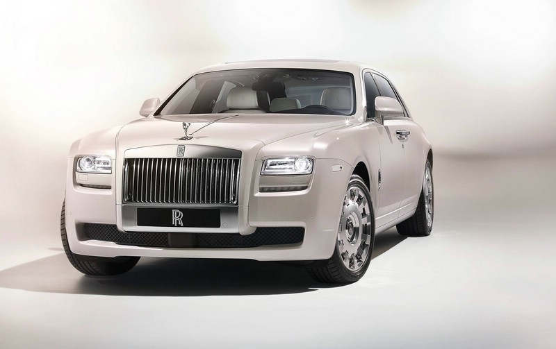 Rolls-Royce Ghost Six Senses Concept in der Frontansicht