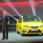 Seats Konzeptfahrzeug Ibiza Cupra auf der Messe in China