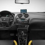 Der Innenraum des Seat Ibiza Cupra