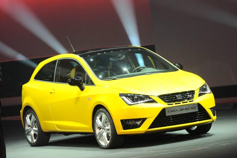 Seat Ibiza Cupra als Concept Car auf der Auto China 2012