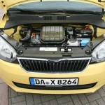 Der kleine Motor des Skoda Citigo