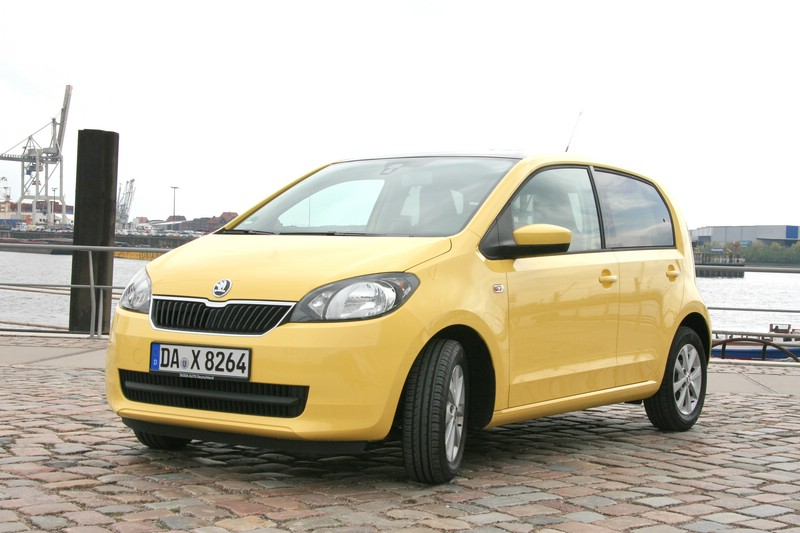 Der neue Skoda Citigo in Gelb