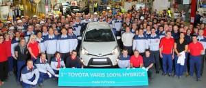 Toyota Yaris Hybrid Produktion in Valenciennes