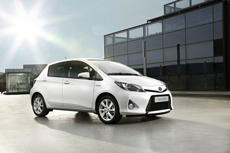 Galerie: Toyota Yaris Hybrid | Bilder und Fotos
