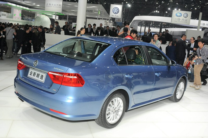 VW New Lavida auf der China Messe 2012