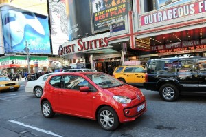 VW Up in Big Apple (New York, USA)