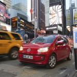 VW up in Rot in New York