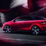 Die Seitenansicht des neuen Volkswagen Golf GTI Cabriolet