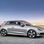 Der Audi A3 8V in Silber