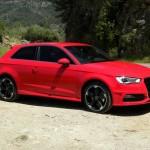 2012 Audi A3 in Rot (Seitenansicht)