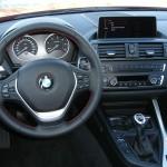 Cockpit des BMW 116d