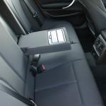 Die hinteren Sitze im BMW 1er 116d