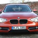 Frontansicht des BMW 1er 116d F20