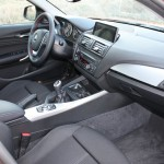 Der Innenraum des BMW 1er 116d F20